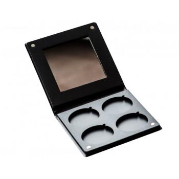 Коробочка для теней на 4 шт с зеркалом Visart