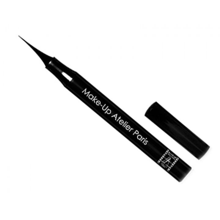 Водоустойчивый фломастер-подводка черный Make-up Atelier Paris