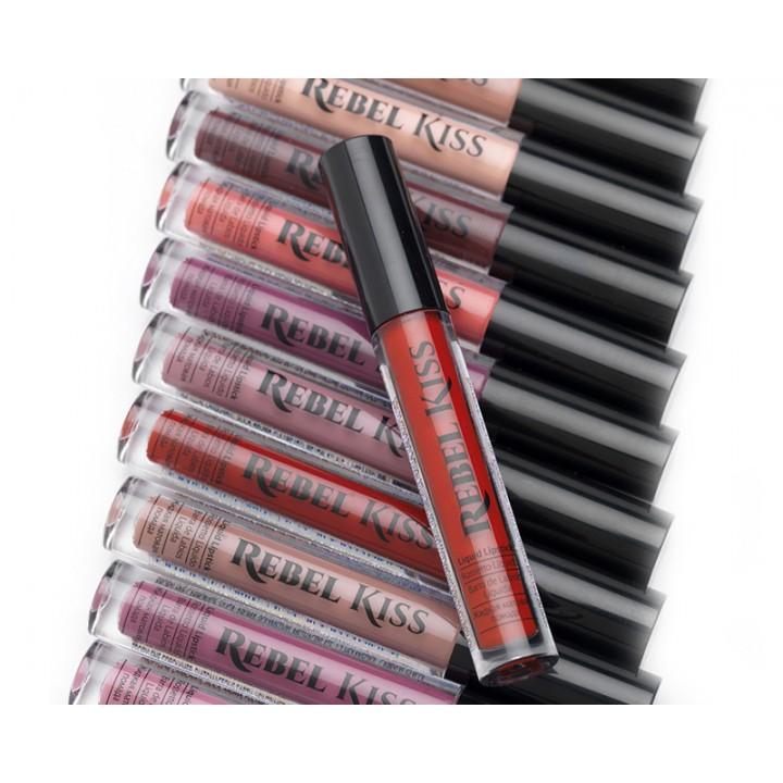 Жидкая матовая губная помада 13 - Rebel Kiss Liquid Lipstick