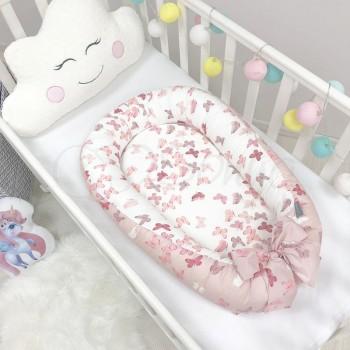 """Кокон Baby Design Premium """"Бабочки"""" - Msonya"""