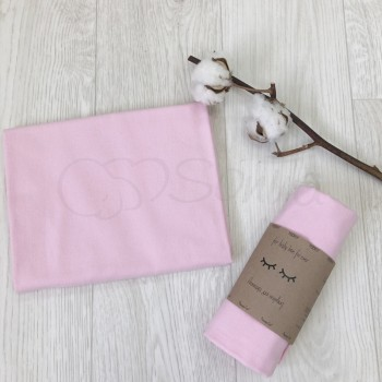 Пеленка фланель, розовая - Msonya