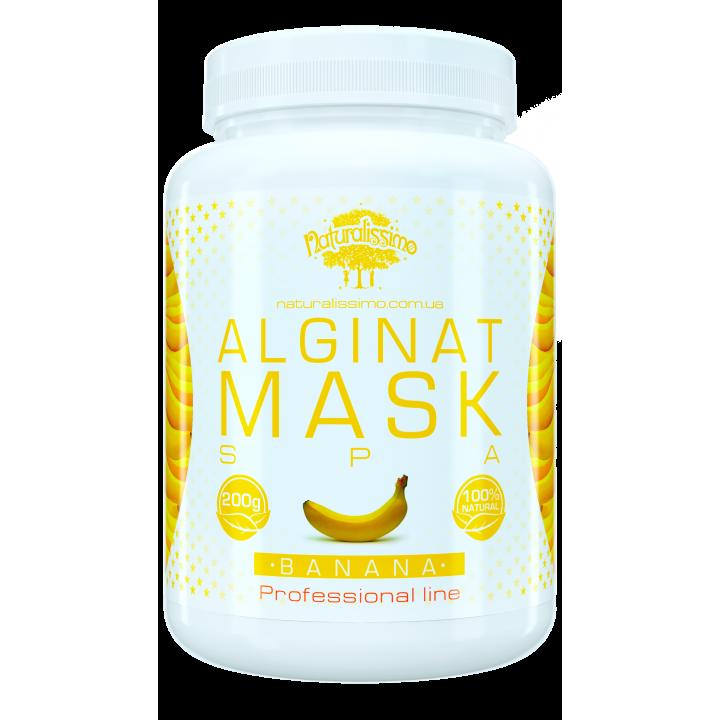 Альгинатная маска для лица с бананом, 200 г - Naturalissimo