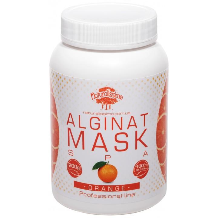 Альгинатная маска для лица с апельсином, 200 г - Naturalissimo