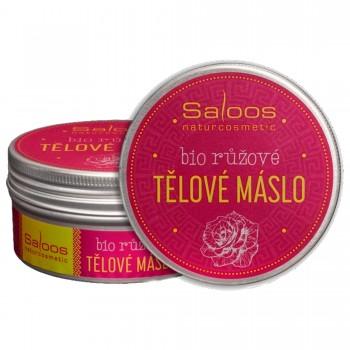 Взбитое розовое масло для лица и тела, 75 мл - Saloos