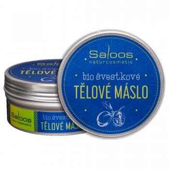 Взбитое сливовое масло для лица и тела, 150 мл - Saloos