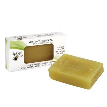 Очищающее мыло для лица SELESTA life против акне и черных точек 100 г