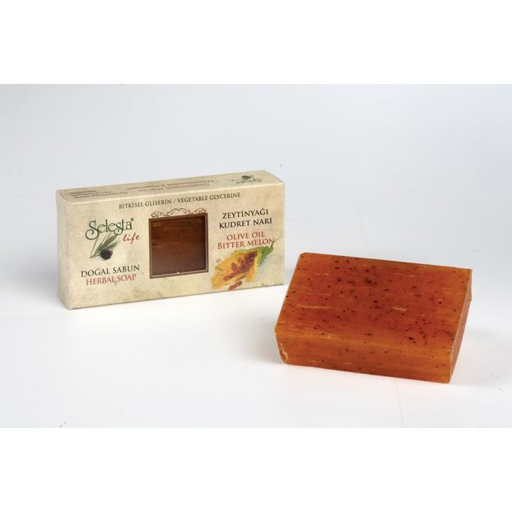 Глицериновое мыло Китайский огурец 100 г - Selesta