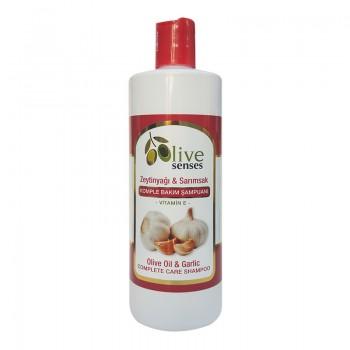 """Шампунь для комплексного ухода """"Оливковое масло-чеснок-витамины"""", 500 мл  - SELESTA Senses"""